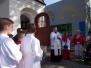 Nabożeństwo majowe przy kapliczce